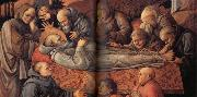 Fra Filippo Lippi Details of The Death of St Jerome. oil painting picture wholesale